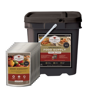 Emergency Food Supply Grab and Go Kit - 84 Servings (Breakfast and Entree)