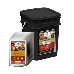 Emergency Food Supply Grab and Go Kit - 60 Servings (Entree Only)