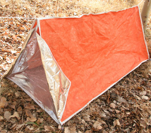 Emergency Zone Heatstore Reflective Tent