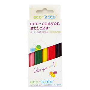 Eco-Crayons 10-pack