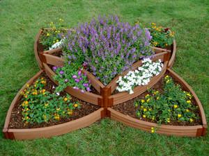 Versailles Sunburst Raised Garden Bed