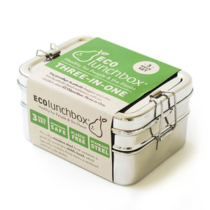 ECOlunchbox Three-in-One Set