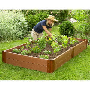 Composite Raised Garden Bed - 4' x 8'