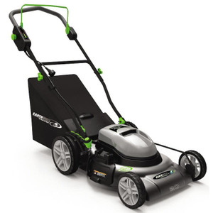 Earthwise 20 Inch 12 Amp Electric Lawn Mower with Grass Bag