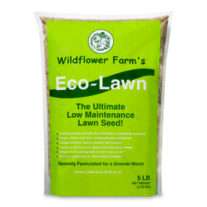 Wildflower Farm's Eco-Lawn Grass Seed - 5 lb