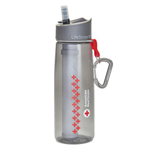 American Red Cross LifeStraw Go with 2-Stage Filtration - Single