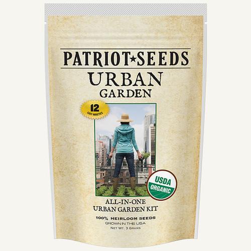 Organic Urban Garden Seed Kit