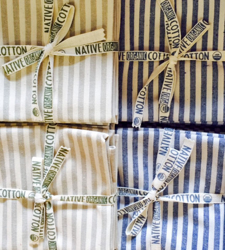 Native Organic Cotton Napkins Set of 4