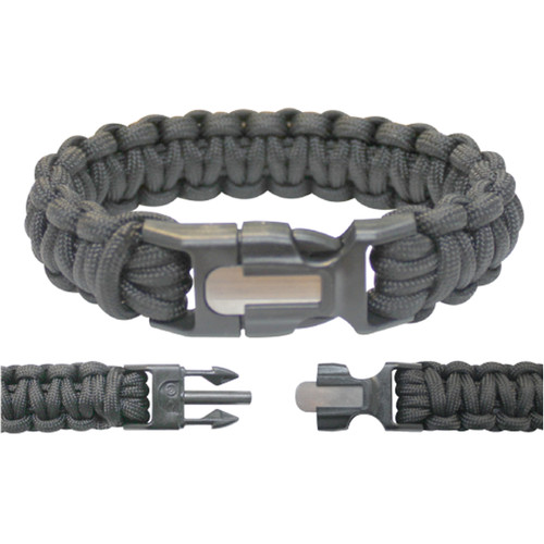 Hot Rod Paracord bracelet with fire starting kit