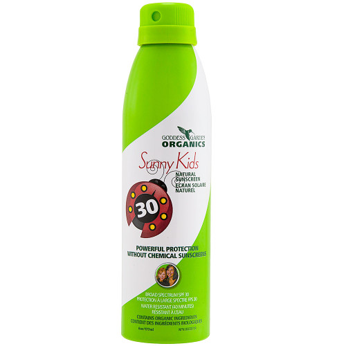 Goddess Garden Organics Natural Sunscreen Continuous Spray - Kids