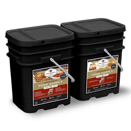 Emergency Food Supply - 240 Servings (Breakfast and Entree)