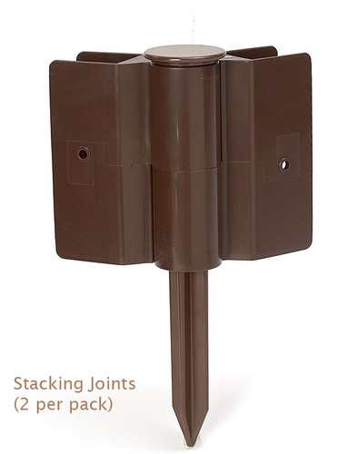 Raised Garden Bed Stacking Joints 2-Pack