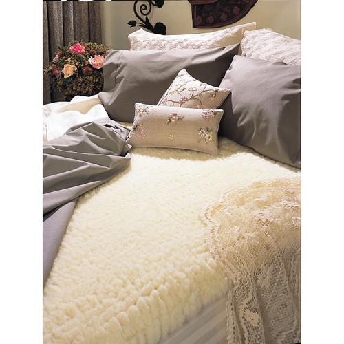 SnugFleece II Wool Mattress Cover