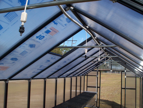 Riverstone Monticello Quick Assembly Greenhouse