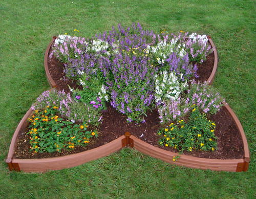 Four Leaf Clover Raised Garden Bed