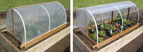 DIY: Portable Garden Cloche Plans