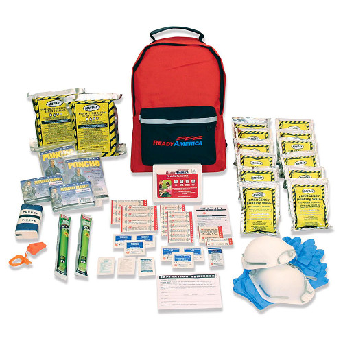 Grab n Go 3 Day Emergency Kit (2 Person Backpack)