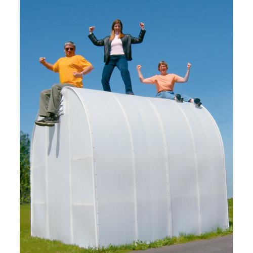 "Solexx Early Bloomer Greenhouse Kit 8' x 8' x 6'3"""