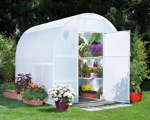 Solexx Gardener's Oasis Greenhouse Kit - 8' x 8' x 8'