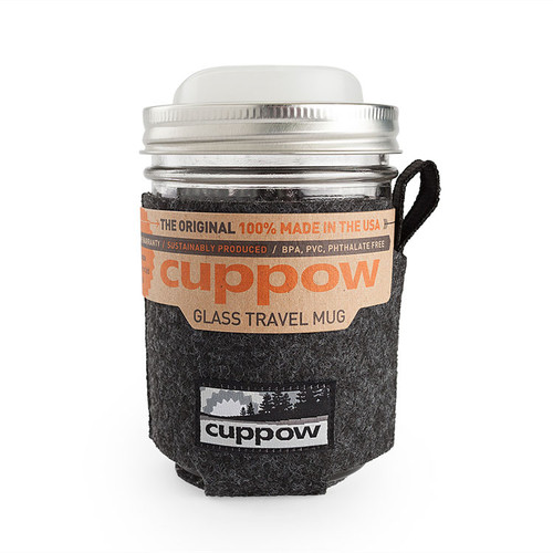 Cuppow Glass Travel Mug