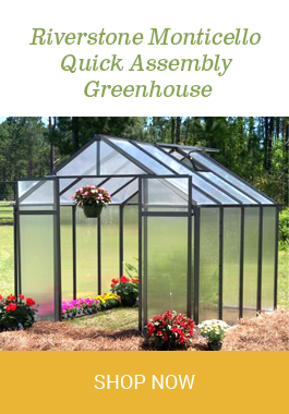 Yard & Garden - Greenhouses - Page 1 - Eartheasy