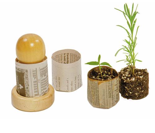 Potmaker Paper Pot Press Eartheasy Com