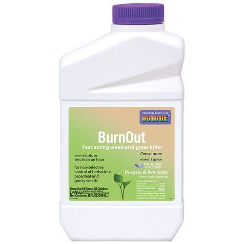 Burnout Weed Amp Grass Killer Concentrate 32 Oz Eartheasy Com