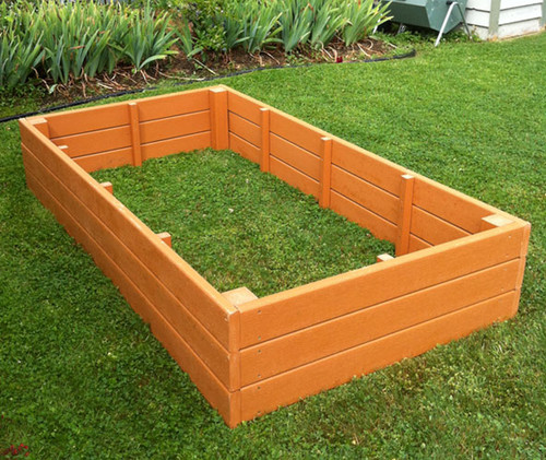 Gardening Beds: Recycled Plastic Raised Garden Bed