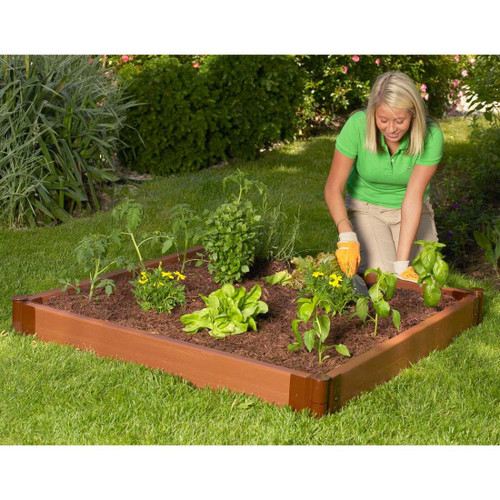Composite Raised Garden Bed 4 X 4 Eartheasy Com