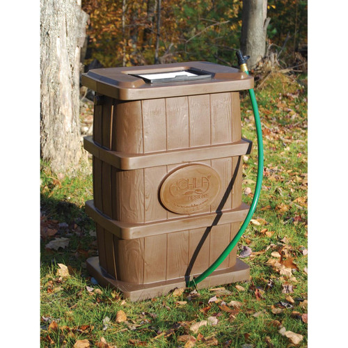 Achla rain barrel 50 gallons for Achla designs cp 03 kitchen compost pail
