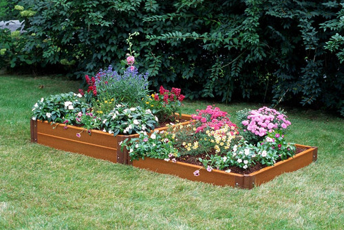Two Step Composite Raised Garden Bed 4 X 8 Eartheasy Com