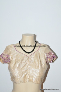 Cream Chumki Blouse