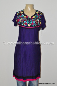 Purple-Designer long Kurtis-42 Indian_Kurtis_Long_8013