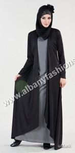 Black-AJ609-Abaya