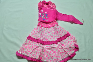 Pink Top and Skirt Size 18