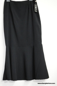 Black Fish Cut Skirt Size 12