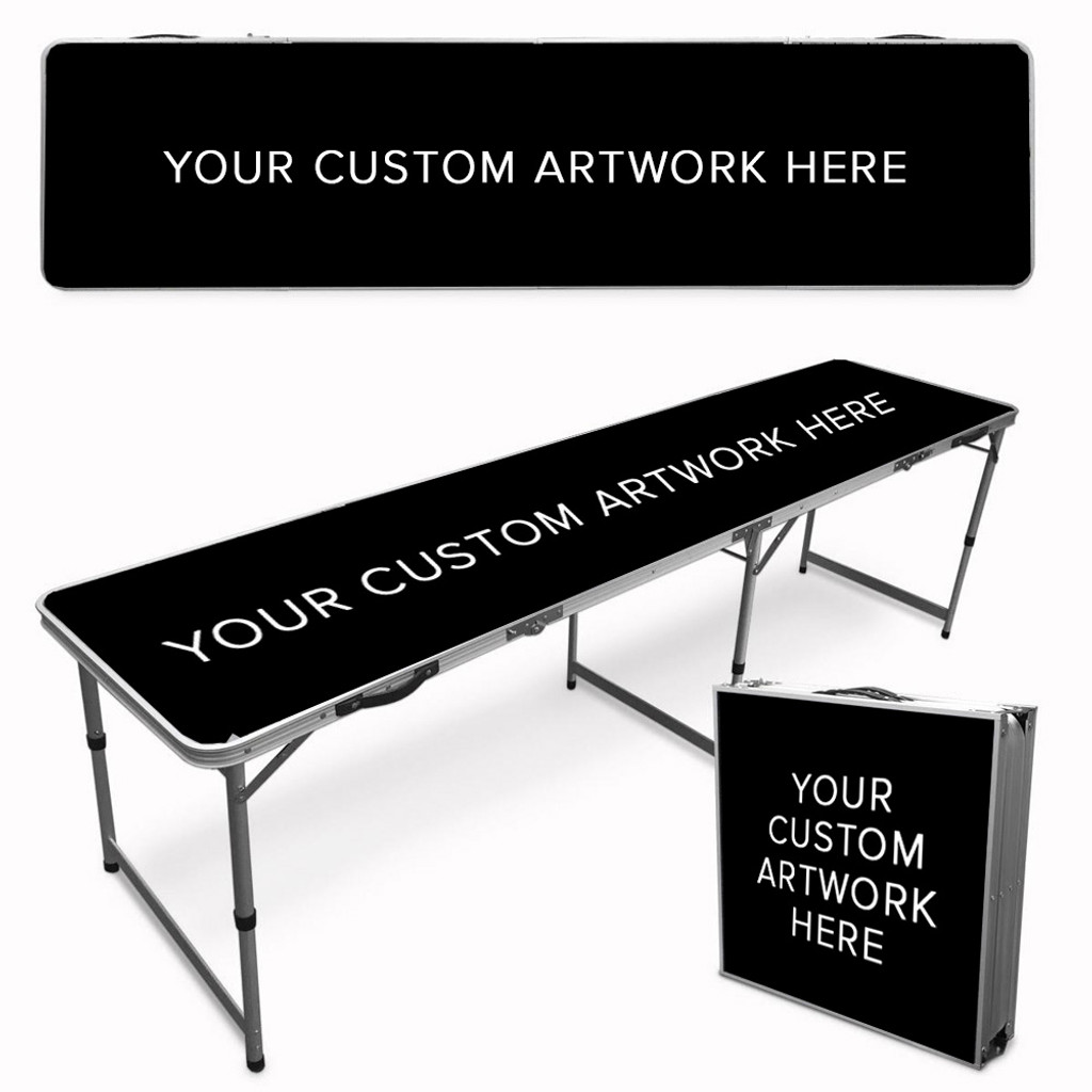 Your Custom Tailgate / Beer Pong Table
