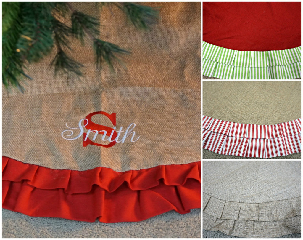 Personalized Tree Skirt