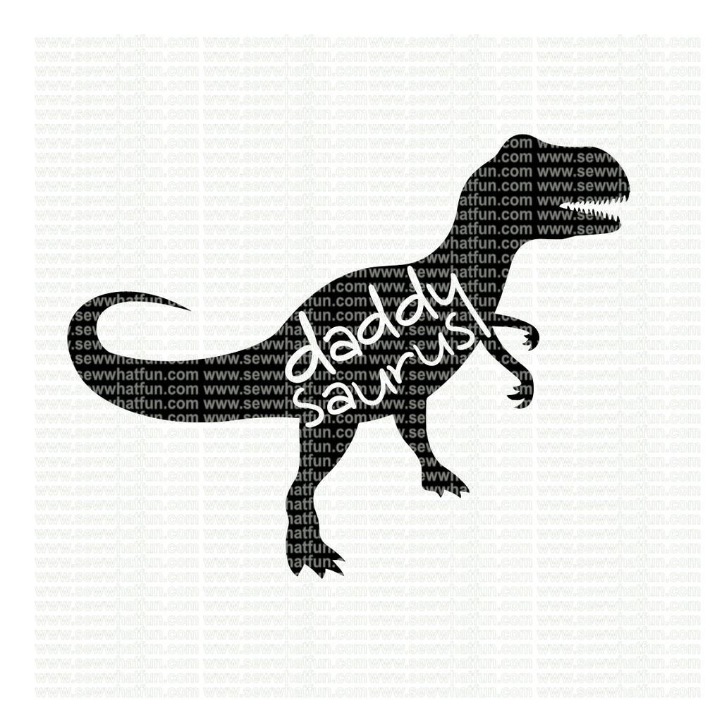 Daddy Saurus SVG