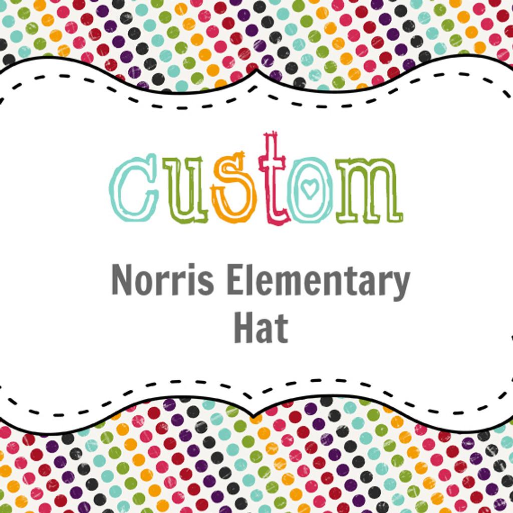 Norris Elementary Custom Hat