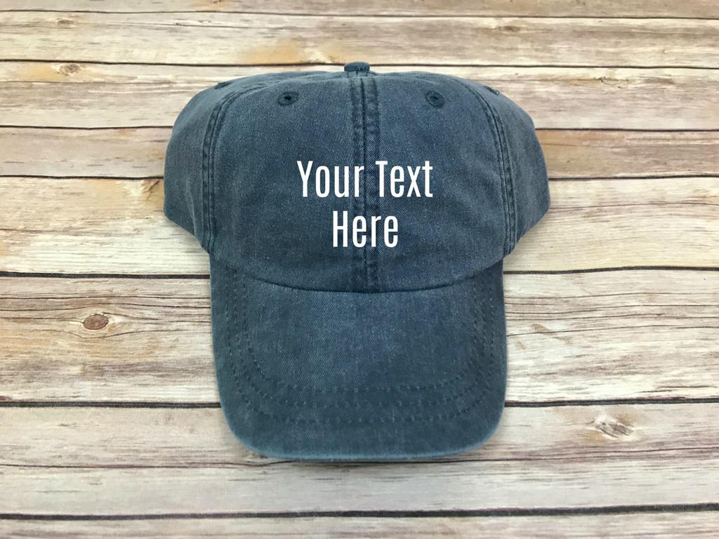 Custom Text Hat