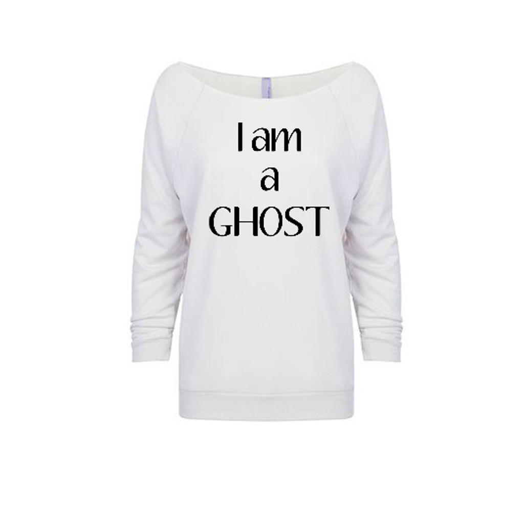 I am a Ghost French Terry Raglan