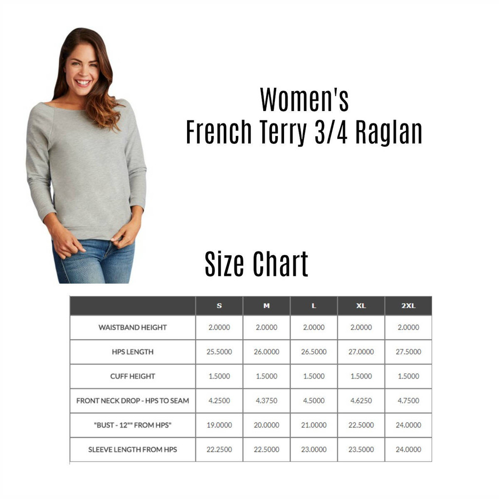 Blessed is she French Terry Raglan