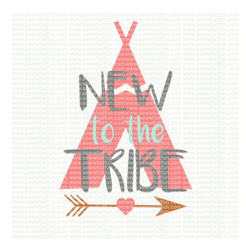 New to the tribe SVG