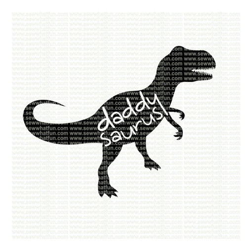 Daddy Saurus SVG