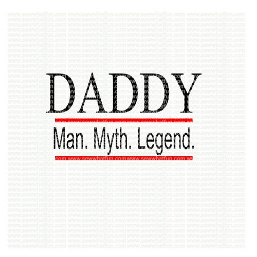 Daddy SVG