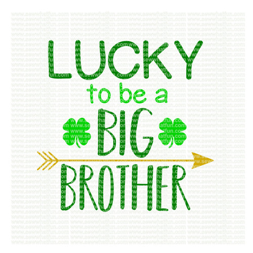 St. Patricks Day Big Brother SVG