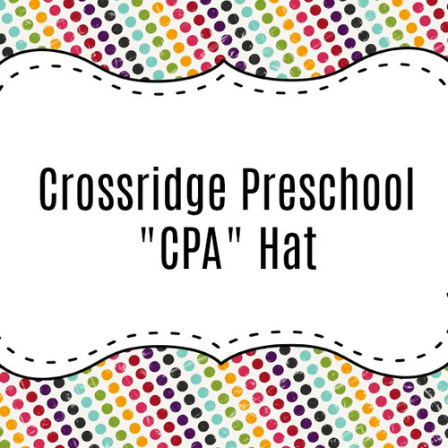 Crossridge Preschool Academy Custom Hat