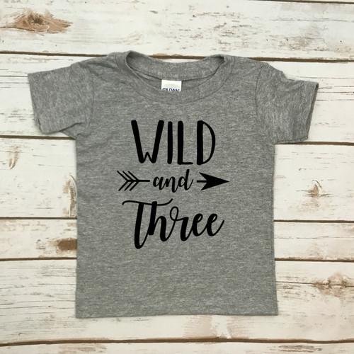 Wild and Three Tee Shirt