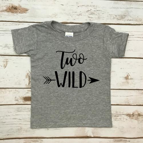 Two Wild Script Shirt